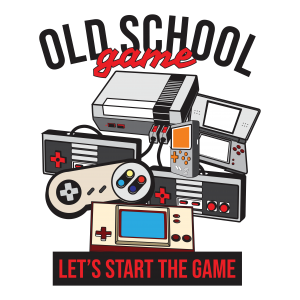 Gaming T-Shirt 'Old School Game'